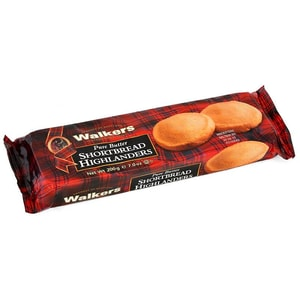 Walkers Shortbread Highlanders 200g - schottisches Buttergebäck