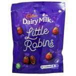 Cadbury Dairy Milk Little Robins 88g Milchschokoladen-Eier