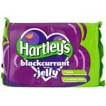 Hartleys Blackcurrant Jelly Tablet Götterspeise Schwarze Johannisbeeren-Geschmack