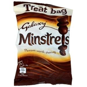 Galaxy Minstrels 80g - Milchschokolade mit Zuckerüberzug