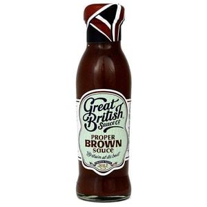 Great British Proper Brown Sauce Würzsauce 305g