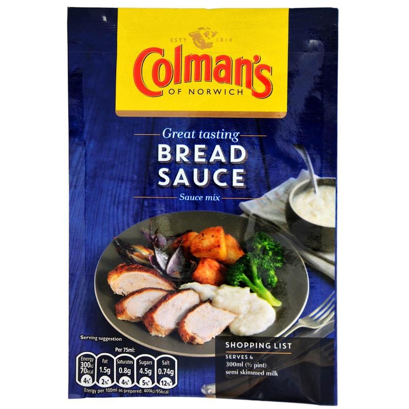 Colmans Bread Sauce Mix - Instant-Brotsoße