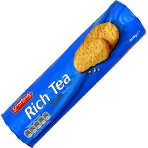 Crawfords Rich Tea Biscuits 300g - Knusprige Kekse