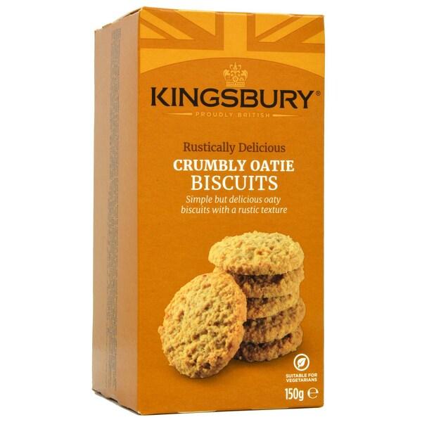 Kingsbury Crumbly Oatie Biscuits 150g - Haferkekse