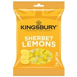 Kingsbury Lemon Sherbets 160g - Zitronenbonbons mit Brause-Kern
