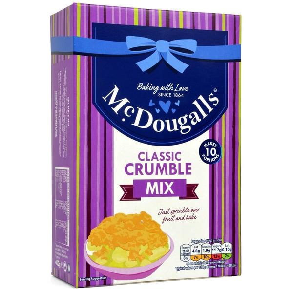 McDougalls Crumble Topping Mix - Streusel-Backmischung