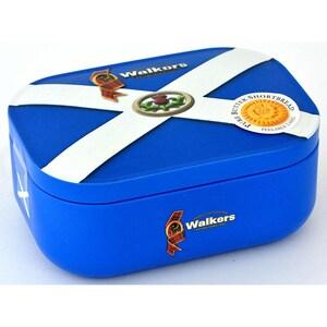 Walkers Shortbread Scotland Saltire Tin 136g - Buttergebäck