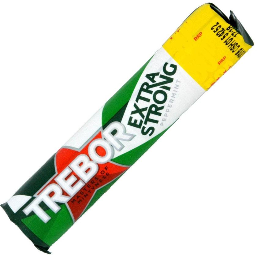 Trebor Extra Strong Peppermint Roll - Pfefferminzbonbons