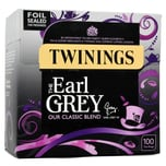 Twinings Earl Grey Tee 100 Teebeutel 250g - aromatisierter Schwarztee