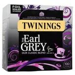 Twinings Earl Grey Tee 100 Teebeutel aromatisierter Schwarztee 250g