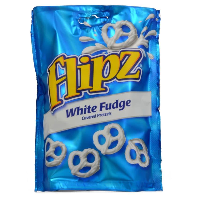 Flipz 90g Brezeln in weißem Fudge
