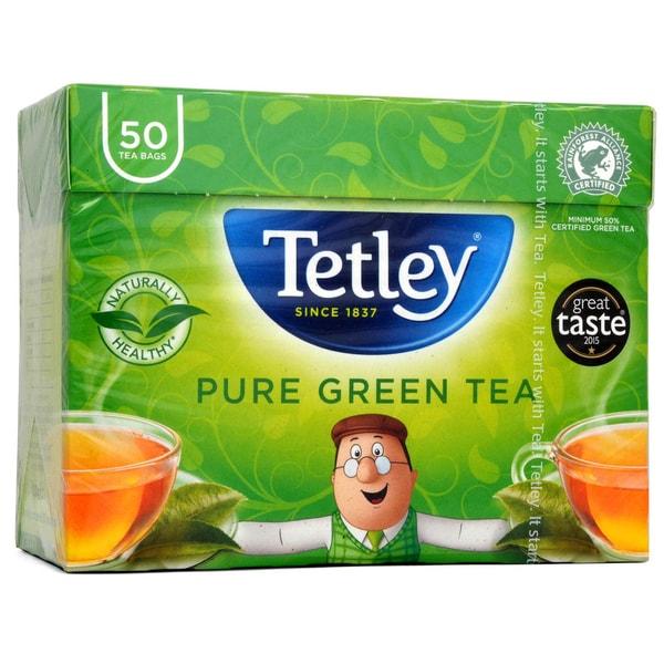 Tetley Grüner Tee 50 Teebeutel Grüner Tee in Teebeuteln
