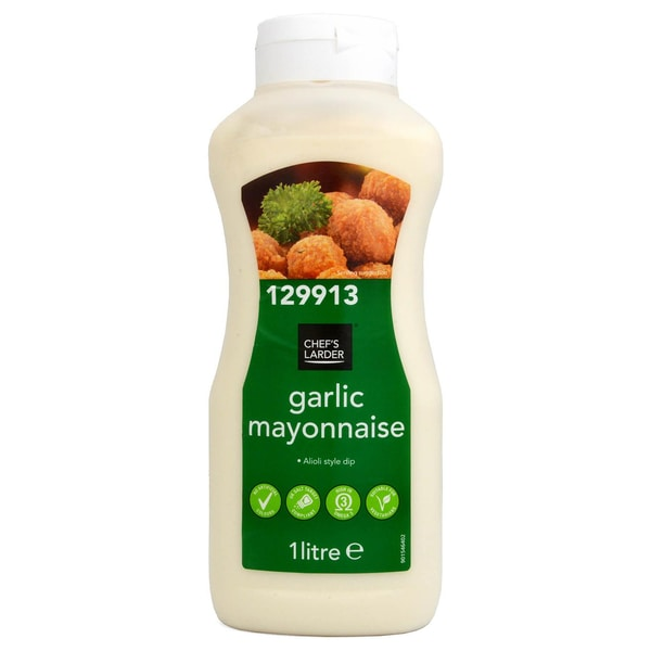 Chefs Larder Garlic Mayonnaise im Aioli-Style 1 Liter