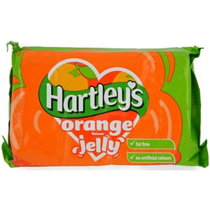 Hartley Orange Jelly Tablet - Tablette für Wackelpudding, Orangengeschmack