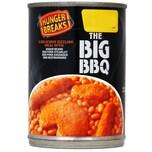 Hunger Breaks The Big BBQ - Bohnengericht mit Fleischprodukten, Grillgeschmack