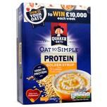 Quaker Oat So Simple Protein Golden Syrup 344g - Haferflocken mit Protein-Zusatz