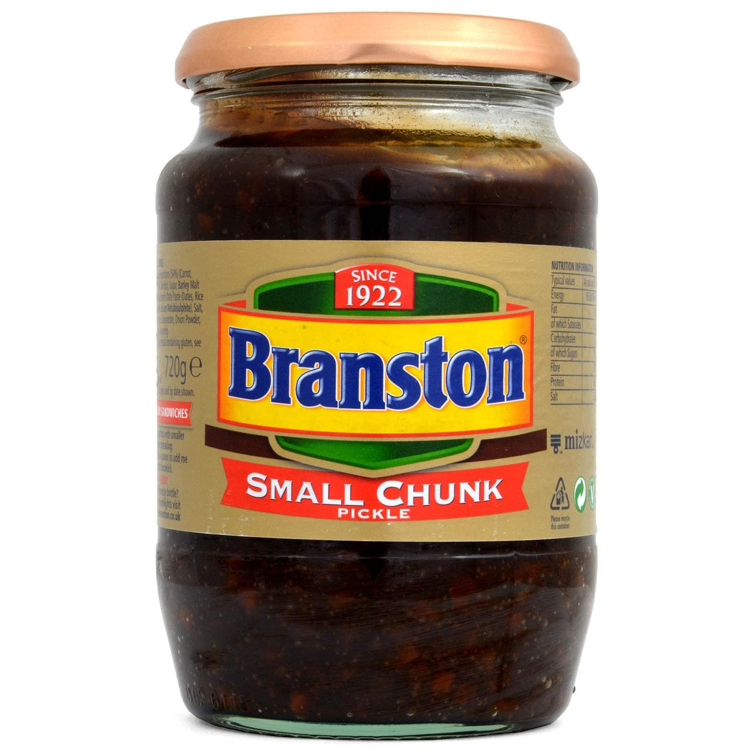 Branston Small Chunk Pickle 720g - Würzcreme