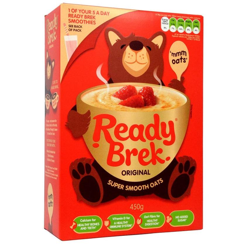 Weetabix Ready Brek Original 450g - Hafer-Frühstücksflocken