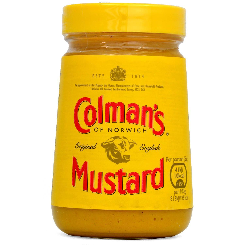 Colmans Original English Mustard 170g - Englischer Senf, scharf