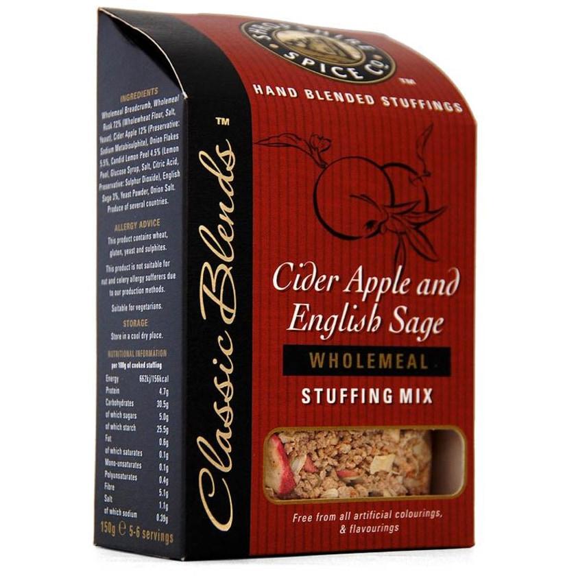 Shropshire Cider Apple & English Sage Stuffing Mix - Füllung für Fleisch mit Mostapfel & Salbei