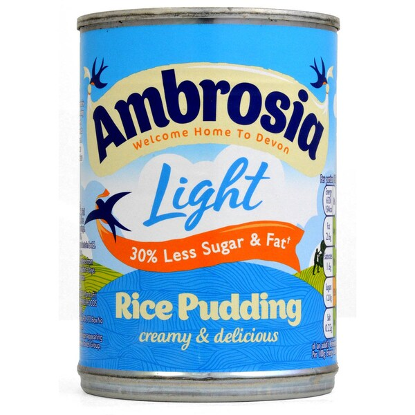 Ambrosia Light Rice Pudding Reispudding fettreduziert 400g