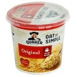 Quaker Oats So Simple Pot Original 45g Instant-Porridge