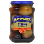 Haywards Strong Onions 400g, Abtropfgewicht 210g Zwiebeln herzhaft eingelegt