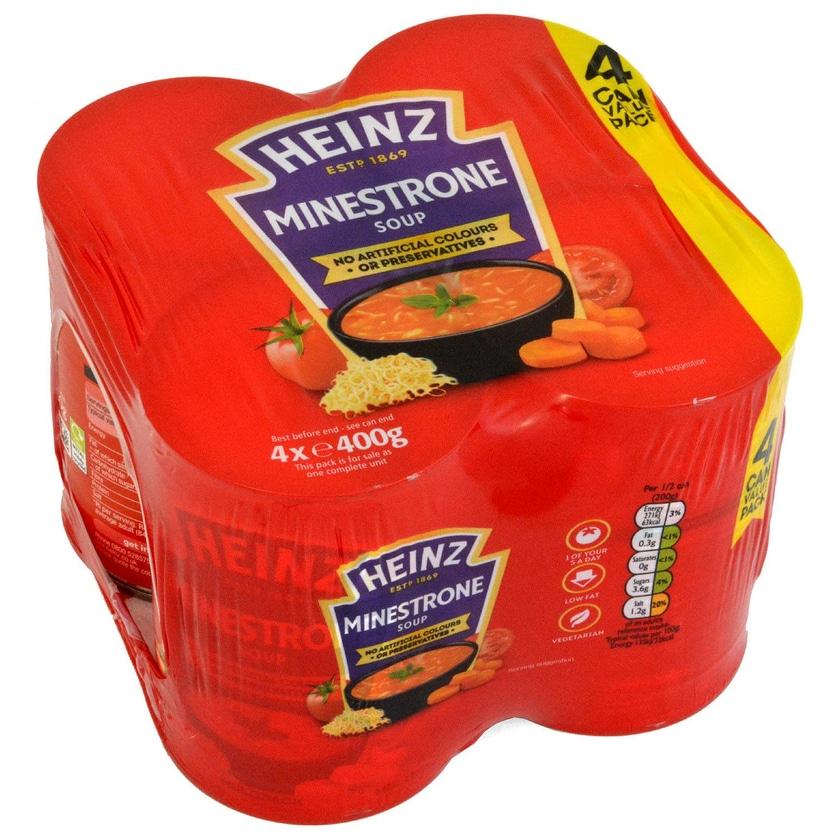 Heinz Minestrone 4 x 400g Suppe