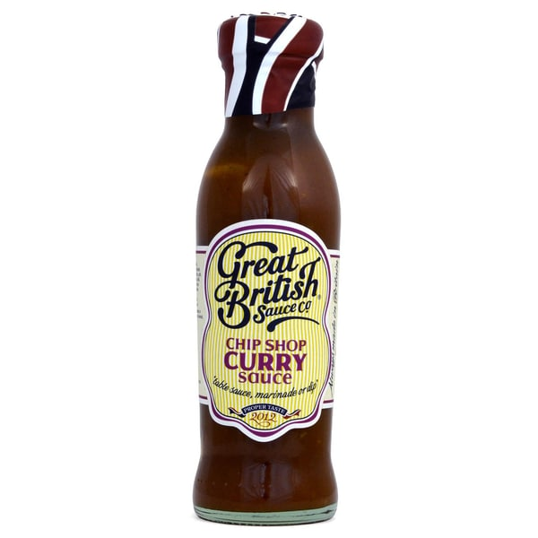 Great British Chip Shop Curry Sauce 335g - Tischsauce, exotisch