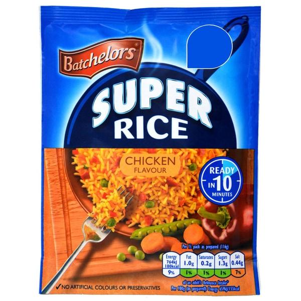 Batchelors Super Rice Chicken Flavour 90g - Reisgericht Hähnchen-Geschmack