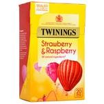 Twinings Erdbeere & Himbeere 20 Teebeutel aromatisierter Früchtetee