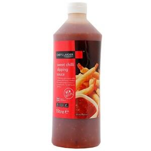 Chefs Larder Sweet Chilli Dipping Sauce 1 Liter - Süsse Chili-Sosse zum Dippen
