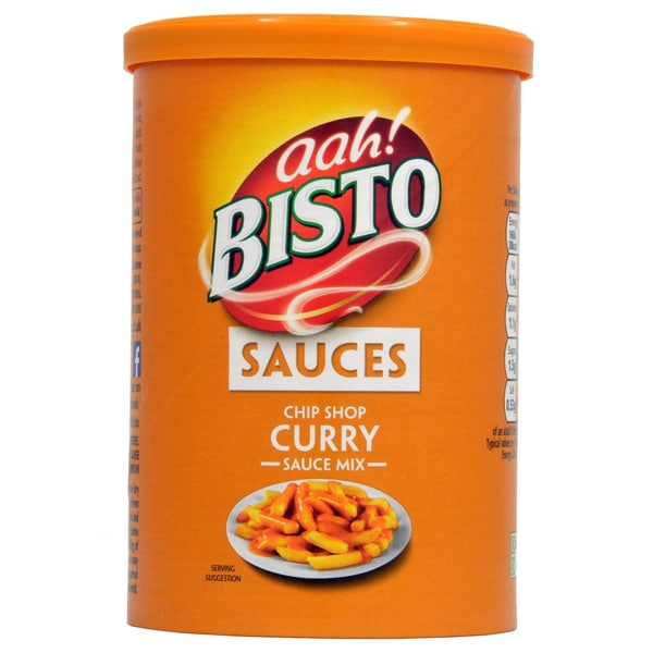 Bisto Chip Shop Curry Sauce - 190g Curry-Soßengranulat