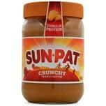 Sun-Pat Crunchy Peanut Butter 600g Erdnussbutter mit Stückchen
