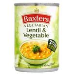 Baxters Lentil & Vegetable Soup Linsen-Gemüsesuppe 400g