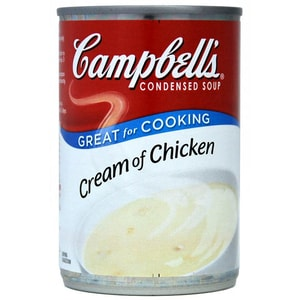 Campbells Cream of Chicken Condensed Soup - gebundene Hühnercremesuppe