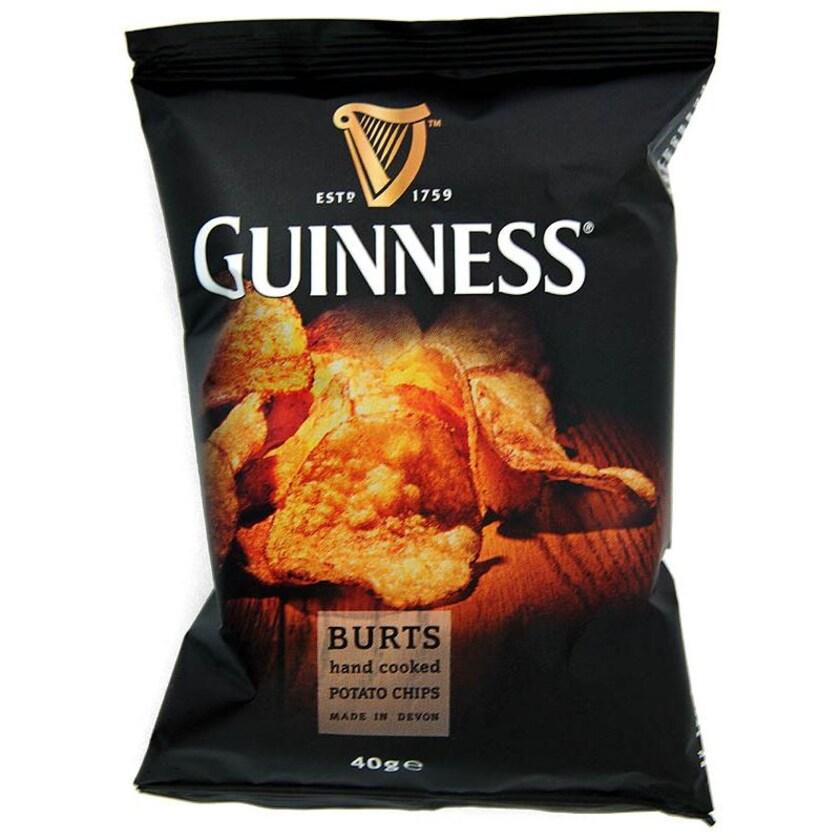Guinness Flavour Potato Chips 40g - Kartoffelchips mit Guinness-Geschmack