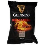 Guinness Rich Chilli Potato Chips 40g - Kartoffelchips mit Rindfleisch-Chili-Bier-Geschmack