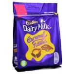 Cadbury Caramel Nibbles 95g - Milchschokolade mit Karamell-Füllung