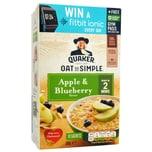 Quaker Oat So Simple Apple & Blueberry 10er-Pack Instant-Porridge