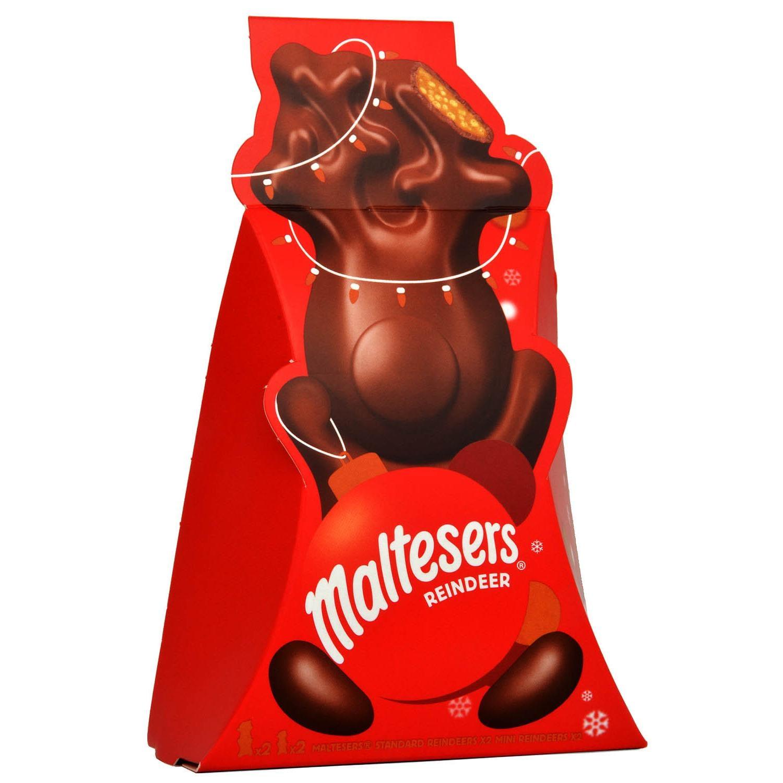 Maltesers Rentier-Pack 81.6g - Milchschokolade mit Knusper-Malz-Füllung