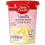 Betty Crocker Buttercream Style Icing Vanilla - Vanillecreme-Kuchenguss