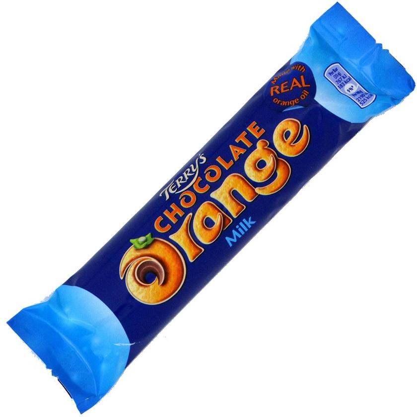 Terrys Chocolate Orange Milk 35g - Milchschokolade, Orangen-Aroma