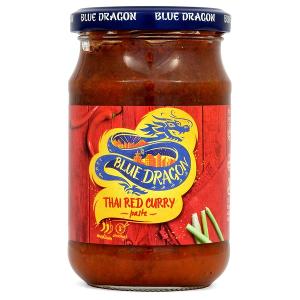 Blue Dragon Thai Red Curry Paste rote Thai-Currypaste 285g