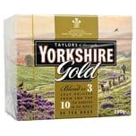Yorkshire Tea Gold 80 Teebeutel - 250g - Schwarztee in Teebeuteln