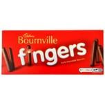 Cadbury Bournville Fingers 114g Kekse mit Schokoladenüberzug