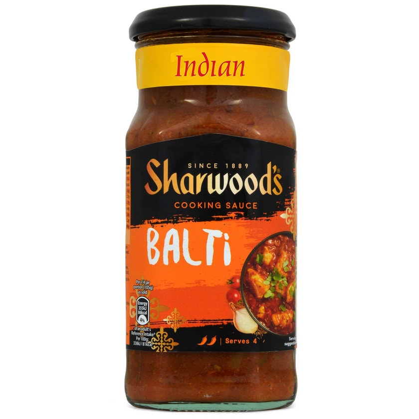 Sharwoods Balti Cooking Sauce - Kochsoße, Balti Art