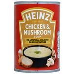 Heinz Cream of Chicken & Mushroom Soup Hühner-Champignon-Cremesuppe 400g