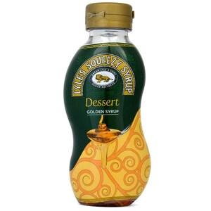 Lyles Squeezy Golden Syrup - Dessertsoße