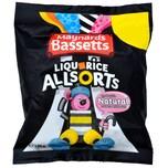Maynards Bassetts Liquorice Allsorts 165g - Lakritz-Konfekt